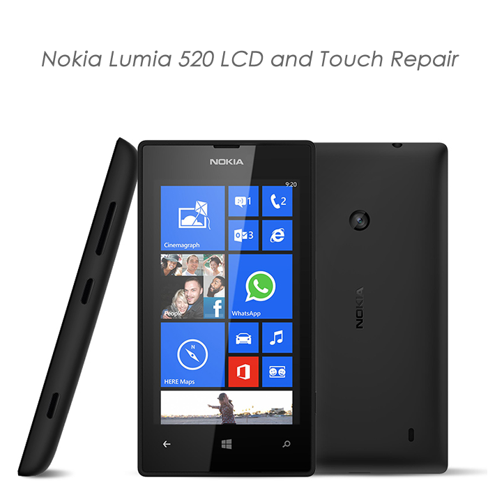 Nokia Lumia 520 LCD and Touch Reapir